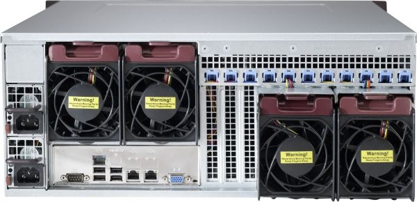 Optimized for enterprise-level server systems, Supermicro's SC842 Chassis series supports serverboards that demand high volume I/O or computational usage. The chassis is equipped with 500W / 668W / 865W / Redundant 600W high-efficiency power supply, heavy duty hot-plug fans and hot-swappable drive bays (with mobile rack upgradeability).