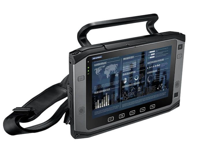 "Advantech - PWS-870-9S51 - 10.1"" Rugged Tablet PC with Intel Core i3 Multi-touch, Sunlight Readable LCD, Windows 8E"